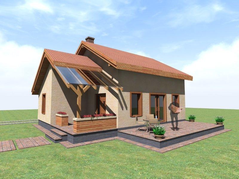 Proiect casa de lemn model emilia promotie for Vedere case online