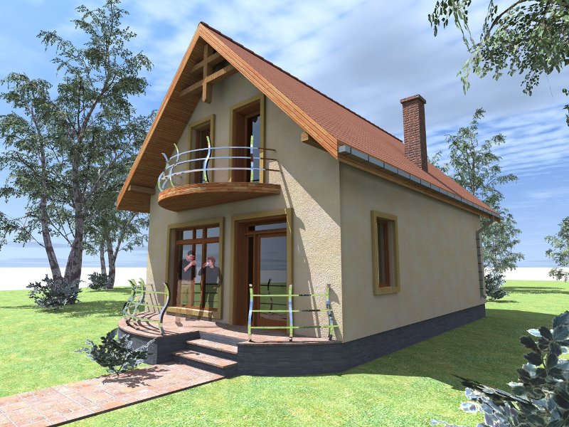 Wooden house projects environment friendly houses for Vedere case online
